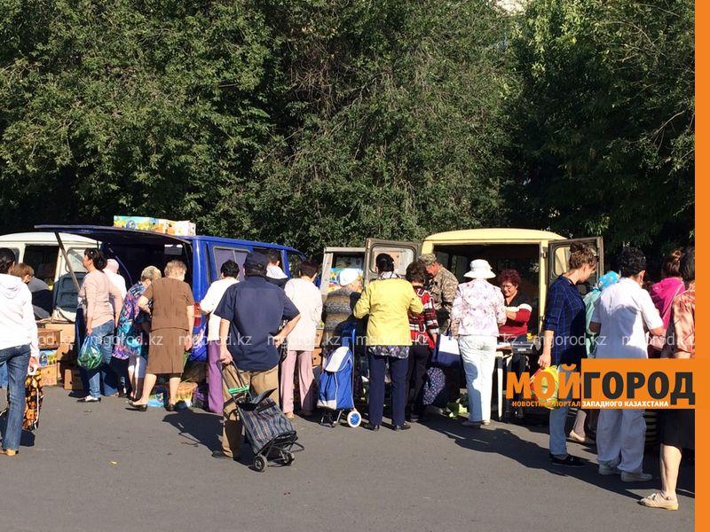 Новости Уральск - Порядка 50 наименований экологически чистой продукции было представлено на ярмарке в Уральске