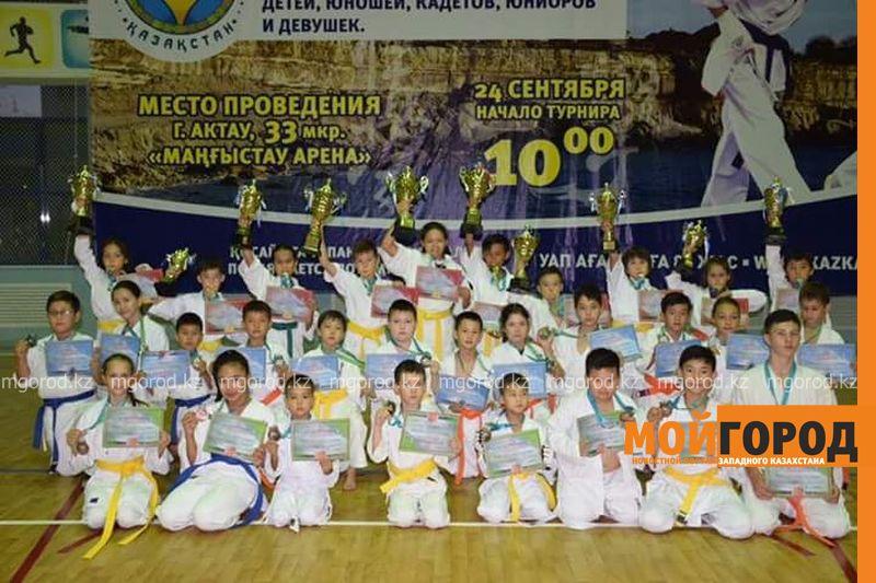 Новости Уральск - 10 золотых медалей завоевали юные каратисты из Уральска
