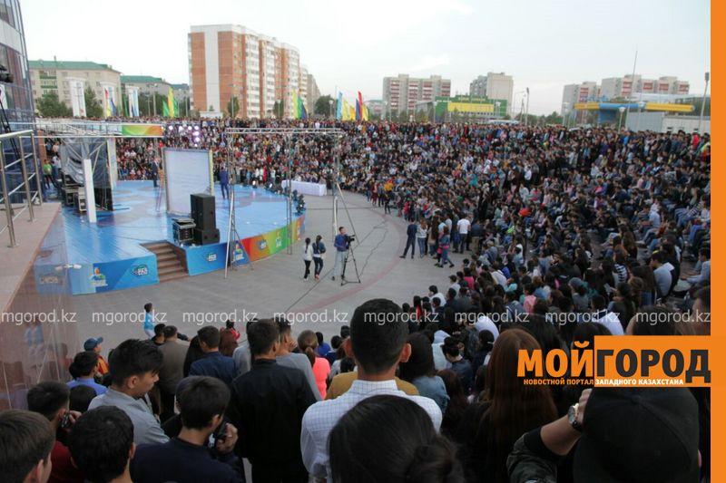 Фестиваль КВН на кубок акима города проходит в Уральске
