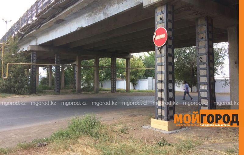Точная дата закрытия омеговского путепровода в Уральске пока неизвестна