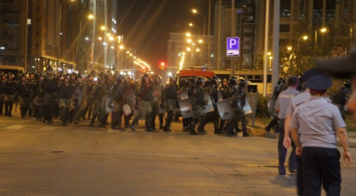 Новости Актау - Беспорядки в Астане: что произошло на самом деле