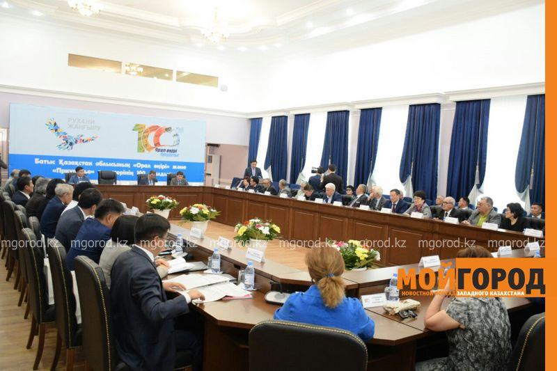 В Уральске прошли юбилейные мероприятия, посвященные 100-летию областных газет «Орал өңірі» и «Приуралье»