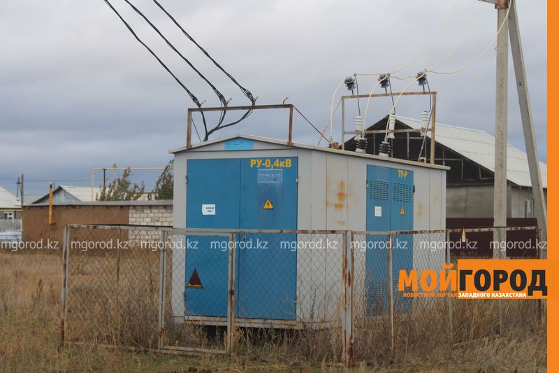 Новости Атырау - В Атырау пьяный строитель залез на трансформатор