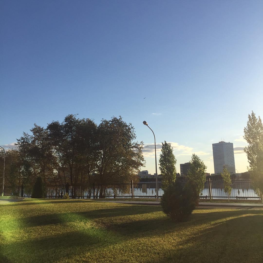 Осенний Атырау глазами его жителей