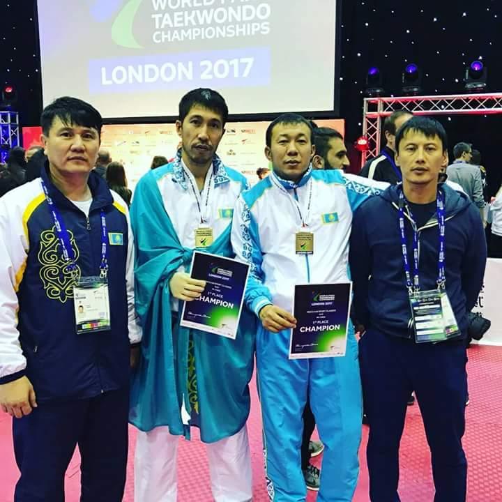 Новости Атырау - Атырауский спортсмен стал чемпионом мира по паратаеквандо