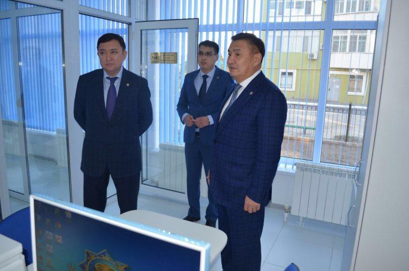 Более 70 горожан воспользовались услугами центра правоохранительных услуг в Атырау