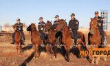 Дачные массивы Уральска будет патрулировать конный взвод