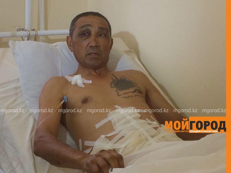 Упавший на прутья забора мужчина в Уральске: «Я не думал, что выживу»