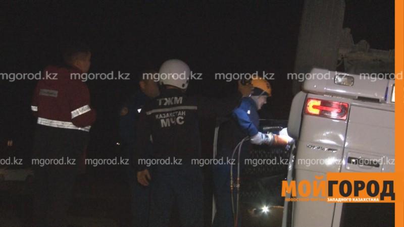 Новости Атырау - Пять человек погибли в страшной аварии в Атырауской области
