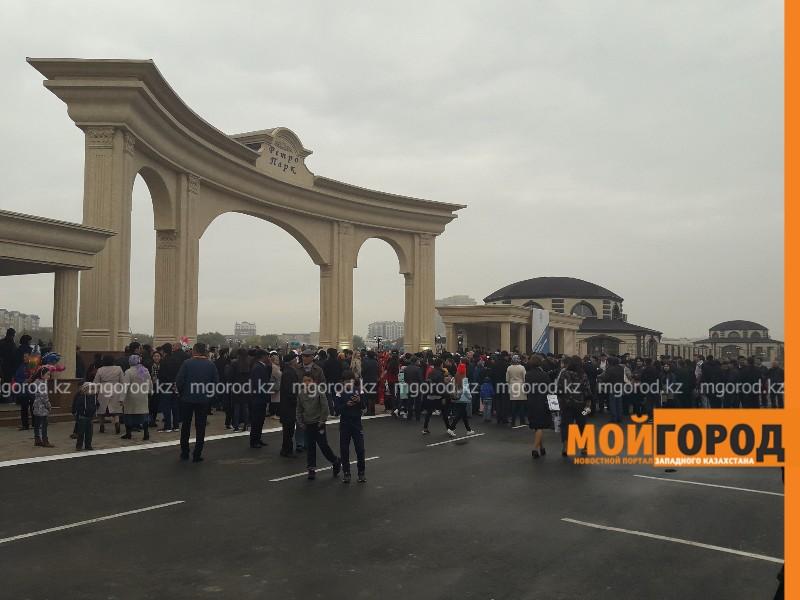 Новости Атырау - В Атырау открылся ретро-парк