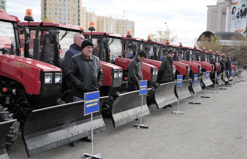 Новости Актобе - Готовность коммунальных служб к зиме проверил аким Актюбинской области