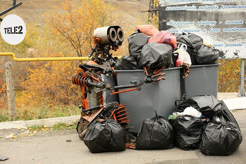 Новости Уральск - Экоакция «Охота на мусор» побила рекорд по количеству участников