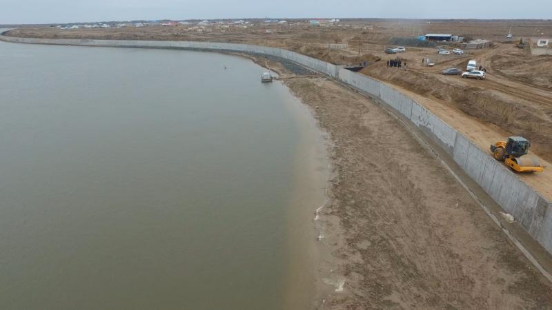 В Атырауской области завершается строительство моста через Урал