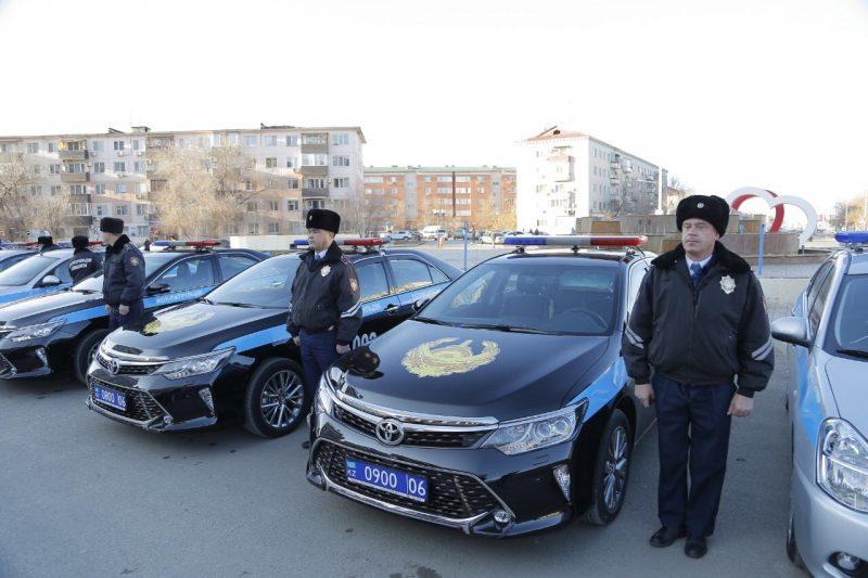 Новости Атырау - 37 автомобилей пополнили автопарк ДВД Атырауской области