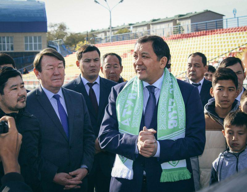 Новости Атырау - Нурлан Ногаев стал одним из футбольных акимов