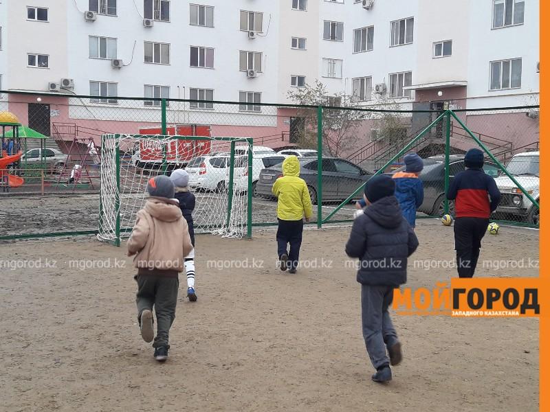 Новости Атырау - Жители Атырау за свой счет построили спортивную площадку