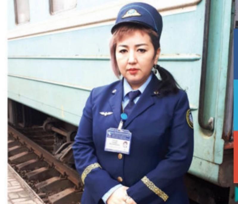 Новости Атырау - Бригадир поезда сообщением Мангышлак- Атырау приняла роды у пассажирки