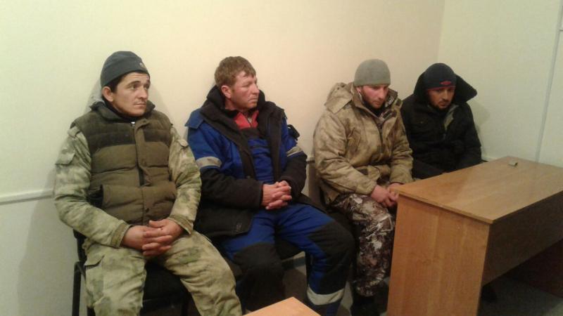 В Мангистауской области задержана барконьерская байда с гражданами России