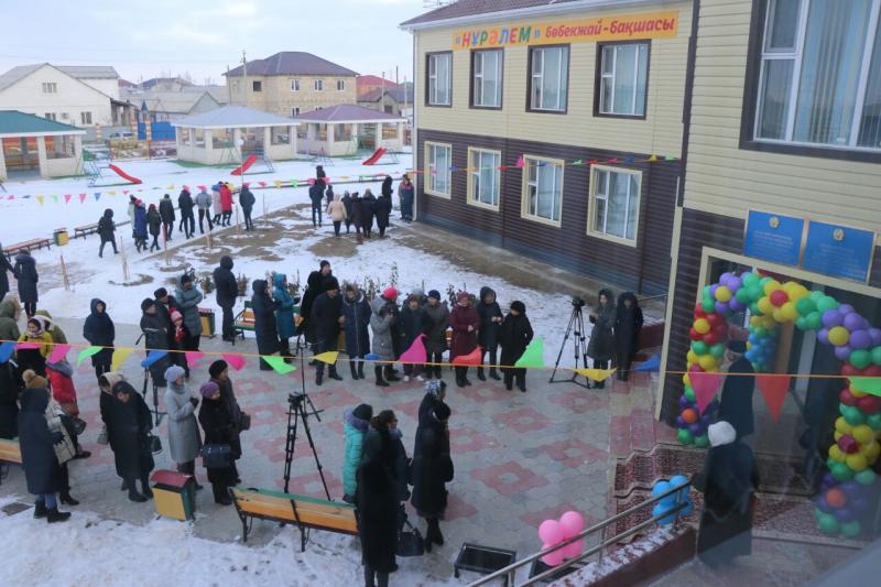 Новости Атырау - Детский сад на 165 мест открыли в Атырау