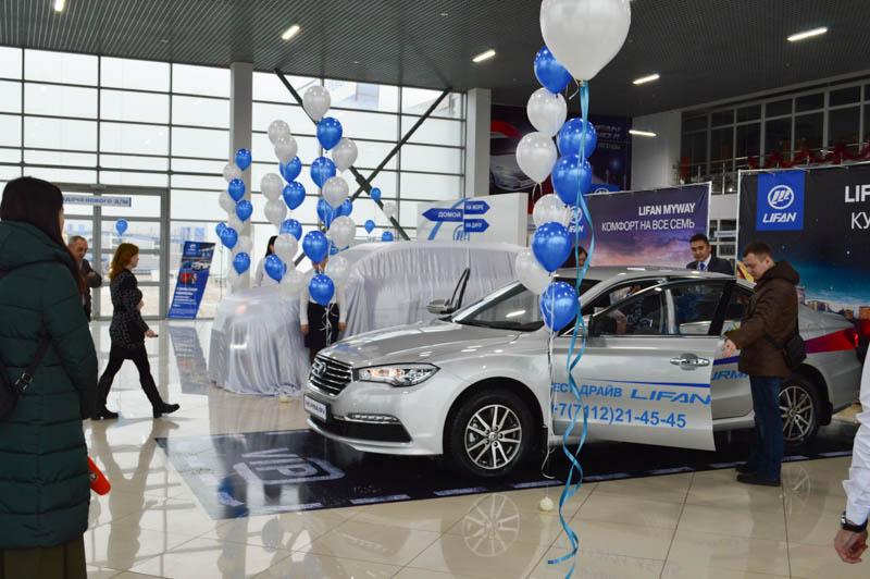 Новости Уральск - Компания «Урал-Кров-Авто» представила новые автомобили марки LIFAN