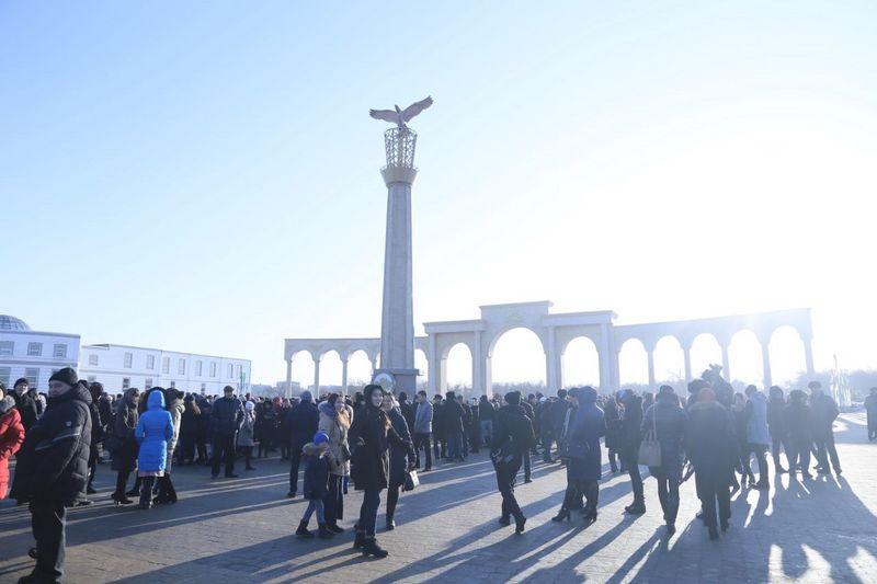 Новости Актобе - В Актобе появилась стела благодарности казахскому народу
