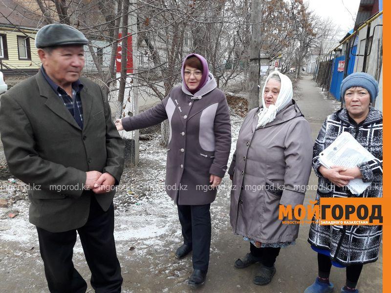 В Уральске жители центральных улиц живут без канализации