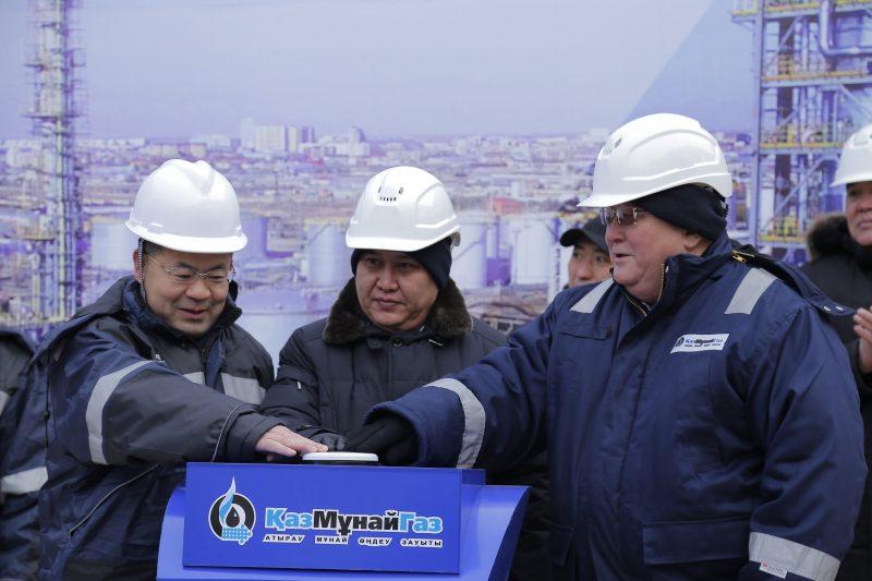 Новости Атырау - Атырауский НПЗ началпусковые работы на комплексе глубокой переработки нефти