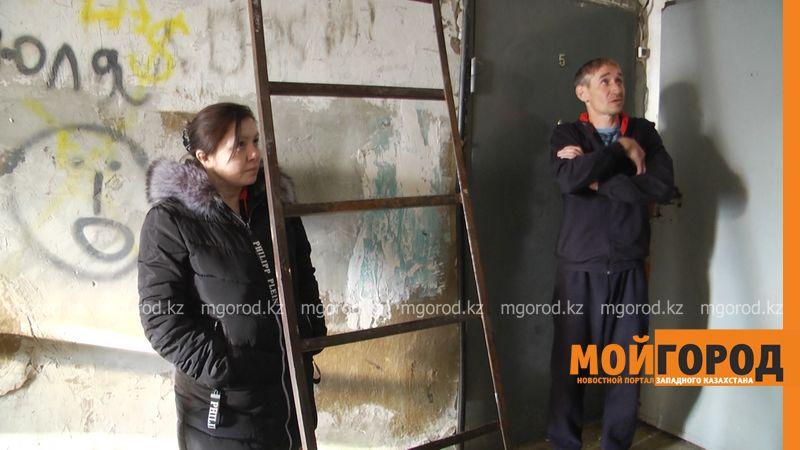 Новости Уральск - Куски бетона падают с потолка на жителей двухэтажки в Уральске