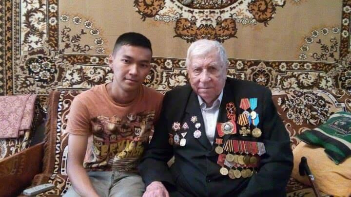 Новости Атырау - В Атырау на 93 году жизни скончался ветеран ВОВ Александр Смыслов