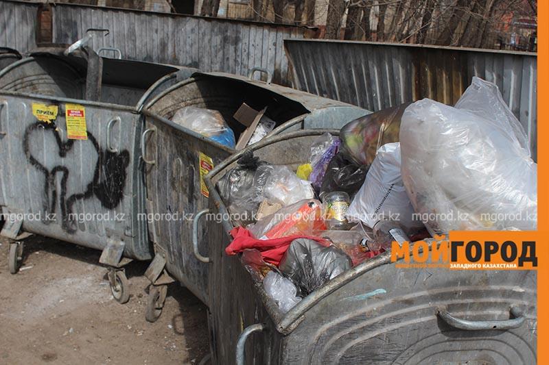 Новости Уральск - В Уральске появятся контейнеры с датчиками контроля заполнения мусора