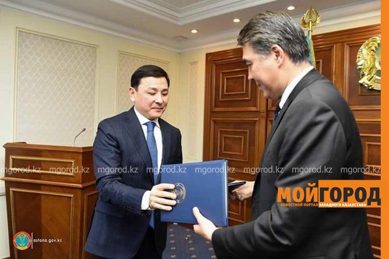 Новости Уральск - Аким ЗКО встретился с акимом Астаны