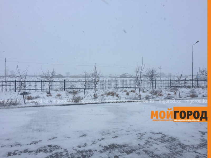 Жителей Атырауской области предупредили о сильном снегопаде