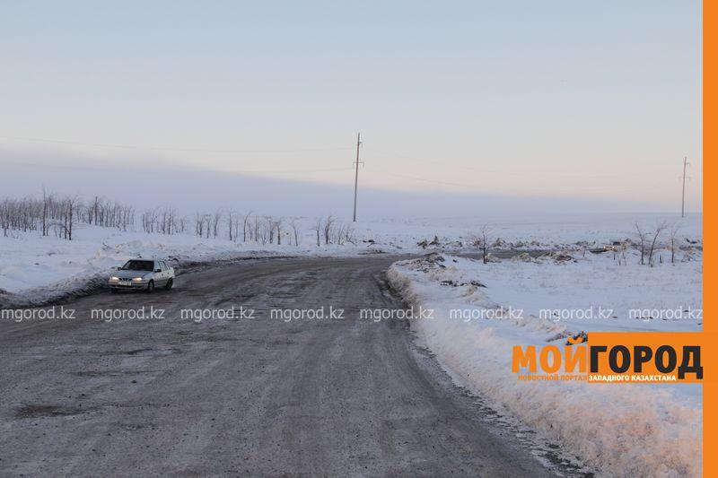 Новости Уральск - В ЗКО открыли трассу