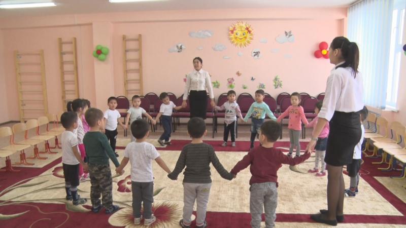 Новости Атырау - Новый детсад на 165 мест в пригороде Атырау принял первых детей