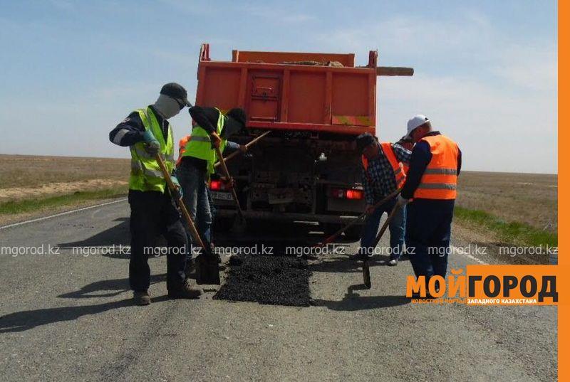 Новости Уральск - 1,3 млрд тенге выделено на средний ремонт автодороги от Уральска до Атырау