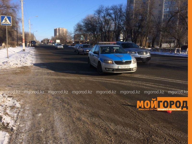 Новости Уральск - На пешеходном переходе в Уральске сбили женщину с ребенком