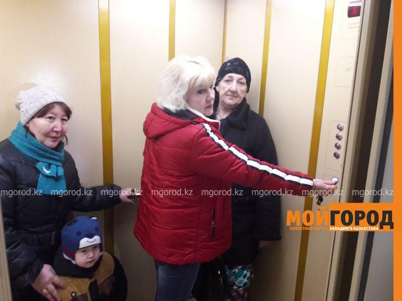 Новости Уральск - В Уральске бизнесмен на собственные средства починил лифты в многоэтажке