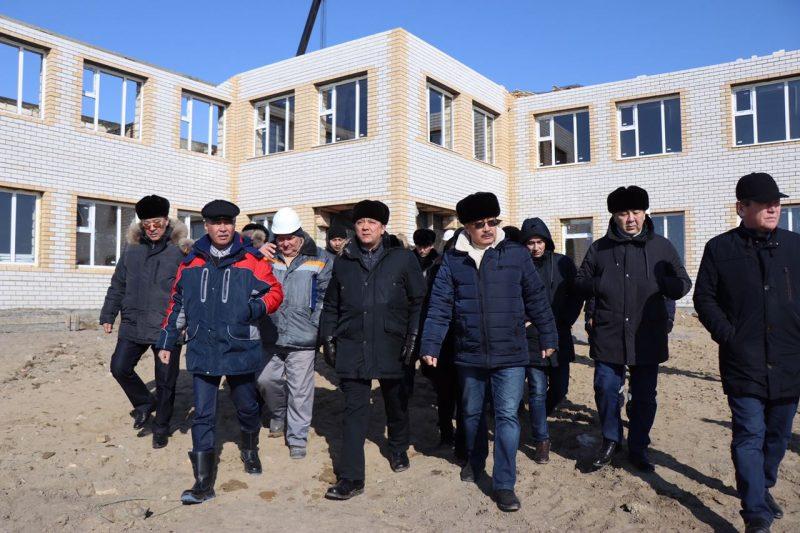 Новости Атырау - Аким Атырауской области побывал в Махамбетском районе с рабочим визитом