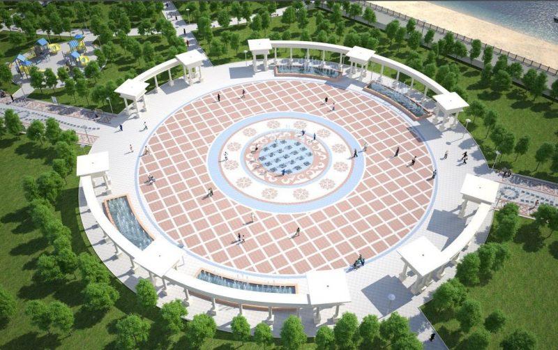 Новости - В Атырау появится парк с колесом обозрения высотой более 50 метров
