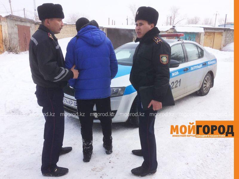 Конный взвод задержал автомобильного вора на месте преступления в Уральске