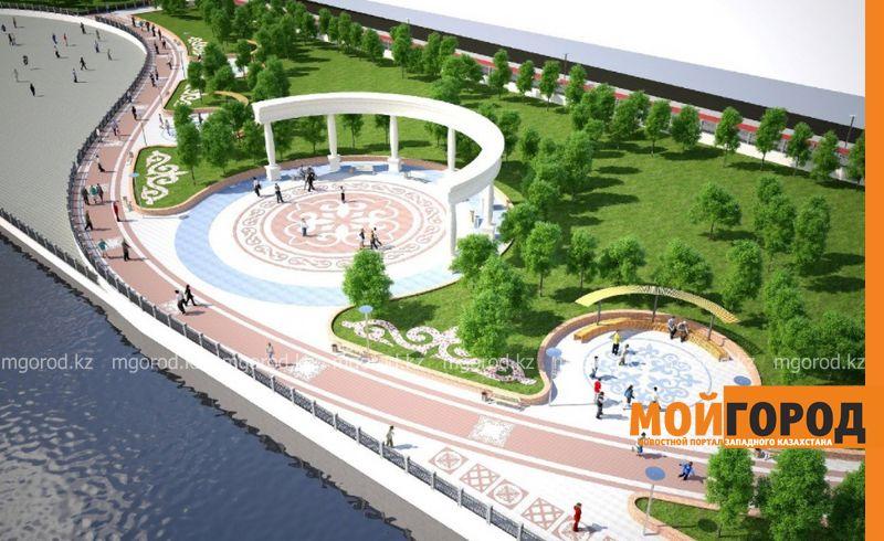 Новости Атырау - В Атырау в 2018 году благоустроят городскую набережную