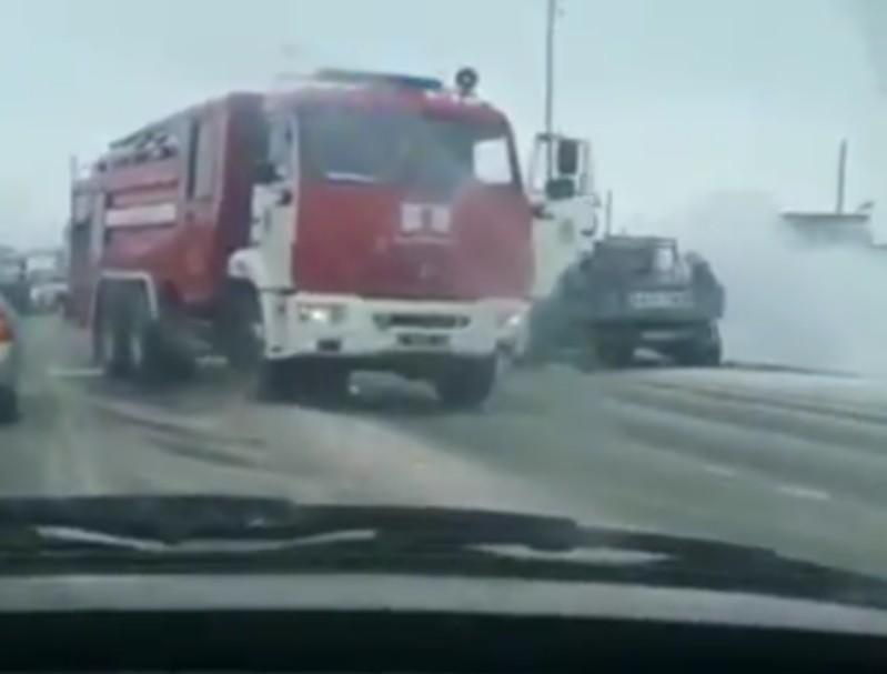 Новости Атырау - 4 машины сгорели за день в Атырауской области (видео)