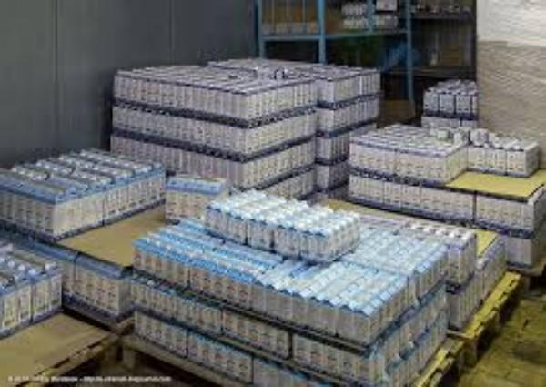 Новости - В Атырау из России пытались провезти 1600 коробок молока без документов