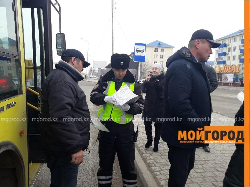 Новости Атырау - Почти половина автобусов в Атырау ездит с нарушениями (видео)