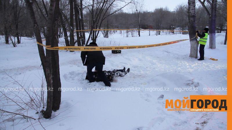 В Уральске обнаружен труп мужчины