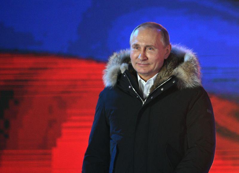 Новости - ЦИК РФ объявил предварительные итоги выборов: президентом стал Путин