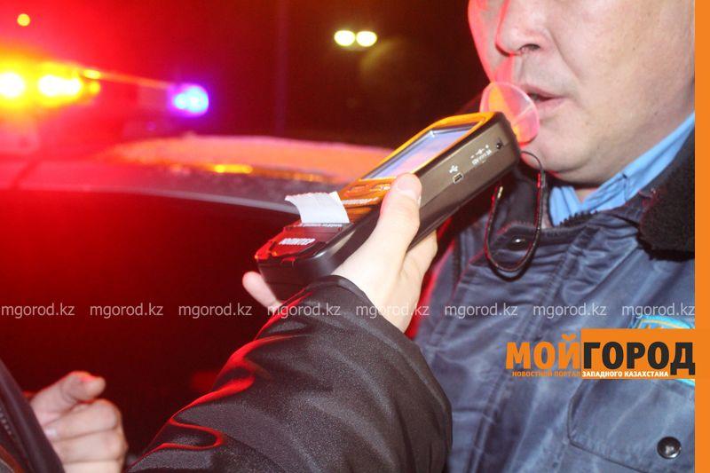Новости Актобе - 29 пьяных водителей задержали в Актобе за три дня