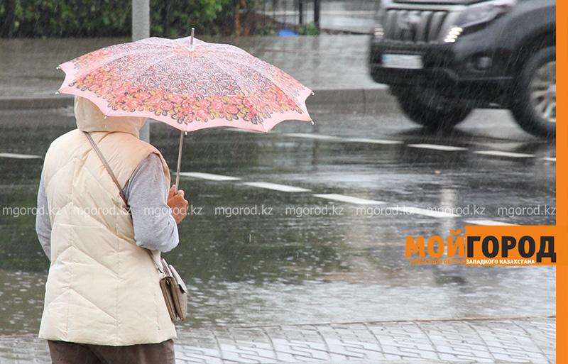 Новости Актобе - На западе Казахстана ожидаются дожди