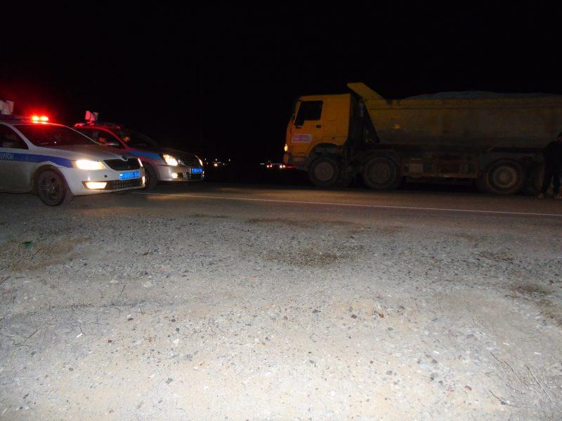 Новости Атырау - В Атырауской области за перегруз задержаны водители двух грузовиков
