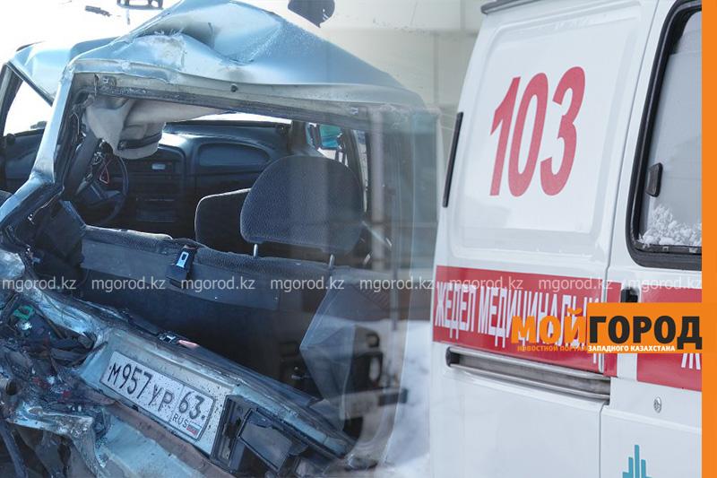 В ЗКО скончался полицейский, попавший в ДТП с пассажирским автобусом
